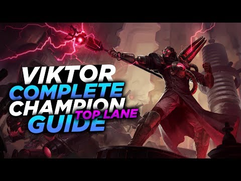 HEY! LOOK WHO'S META AGAIN! - SEASON 8 VIKTOR GUIDE! - League of Legends