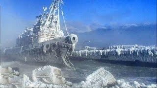 Eingefrorene Passagiere auf dem Schiff - Wahre Schiffsunglücke