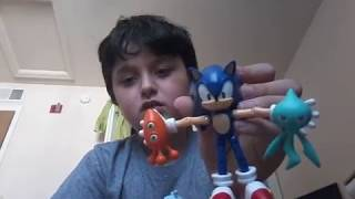 Sonic Tomy toy unboxing