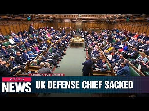 Gavin Williamson sacked as UK defence secretary for Huawei leak