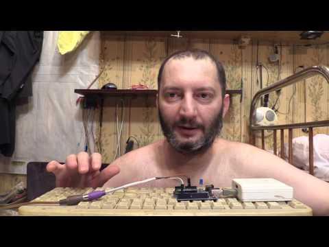 Arduino PS/2 клавиатура подключаем Keyboard Connect Лайфхак Своими руками