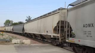 Crandic Empty DDGS Train - Aug. 22, 2015