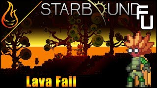 Hunting Lava and Crafting EPPs Starbound Frackin Universe EP34