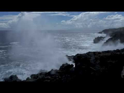Houle 7 mai 2019 Ile De La Reunion [4K]