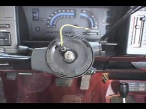 Part1 S10 Loose Tilt Steering Repair Project 5 Chevy  YouTube