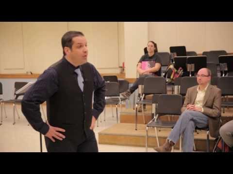 Carlos Conde - teaching TTU school of music part 1 of 2
