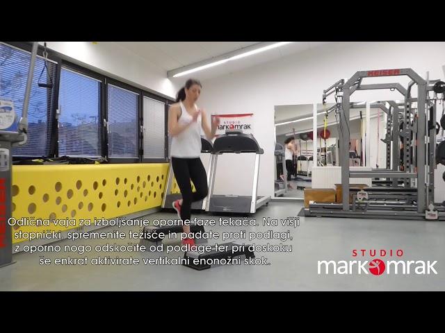 Plymoetric runners jups - Tekaški pliometrični skok