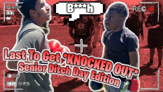 Last to get KNOCKED OUT | Senior Edition ! ( GETS HEATED) 🔥