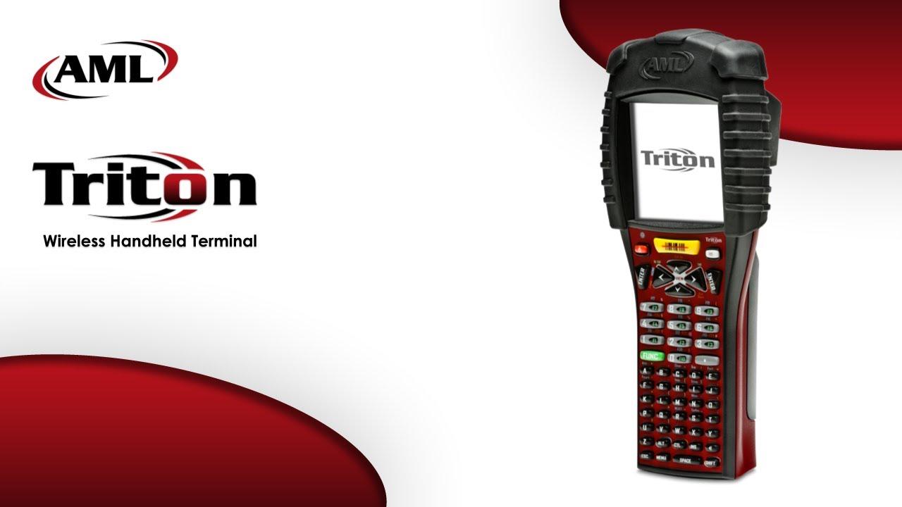 Rugged Handheld Terminal - AML Triton