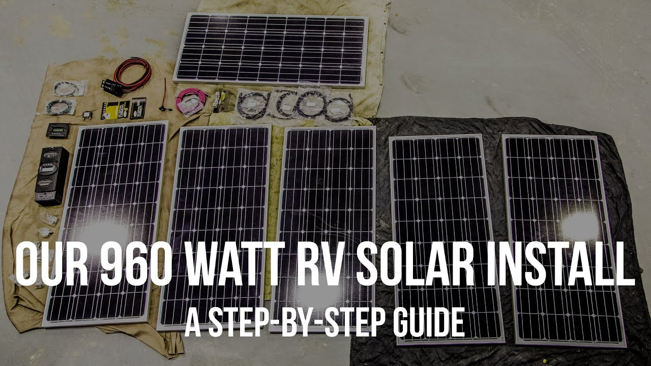 Our 960 Watt RV Solar Install – A Step by Step Guide Mandalay Rv Keyless Entry Wiring Diagram on