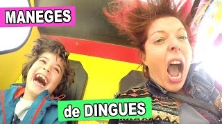 MANÈGES et ATTRACTIONS super DINGUES au PARC FRANCE MINIATURE - Mel & Alex