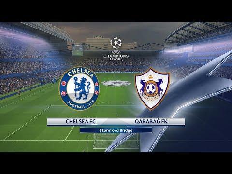 Chelsea vs Qarabağ FK | 12/09/2017 | UEFA Champions league 2017/2018
