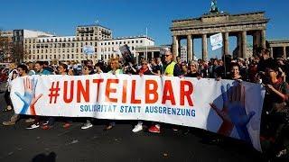 Unteilbar-Demo in Berlin
