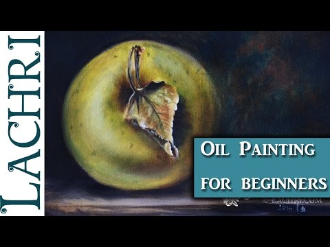 Beginners guide to oil painting and demonstration w/ Lachri