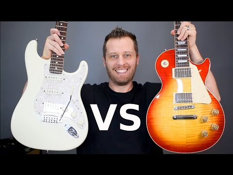 LES PAUL Vs STRATOCASTER - Which Guitar Is Right For You?