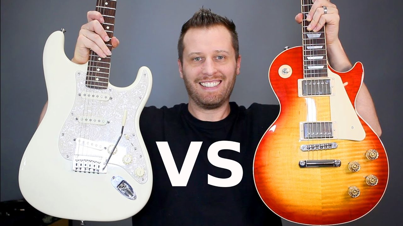 les paul vs stratocaster which guitar is right for you youtube. Black Bedroom Furniture Sets. Home Design Ideas