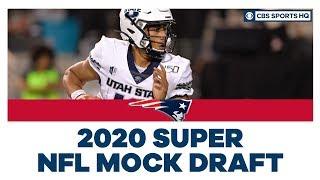 Patriots select Jordan Love No. 23 overall | 2020 Super NFL Mock Draft | CBS Sports HQ