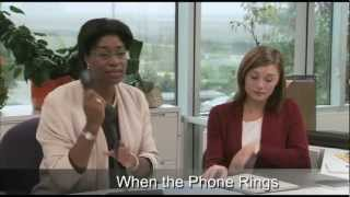 When the Phone Rings: Telephone Skills for Better Service