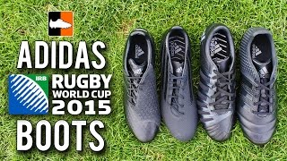 What do the 2015 All Blacks wear? adidas Rugby World Cup Specific Boots