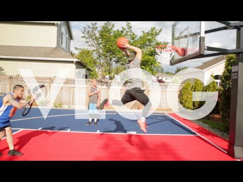 CAN I REALLY DUNK? NEW HYPETALK MERCH! B-DAY PARTY!