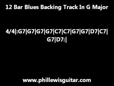 12 Bar Blues Backing Track In G Major