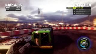 DiRT Showdown - PC Gameplay - Max Settings - 720p