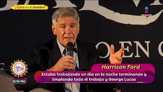 ¡Harrison Ford en México! | Sa…