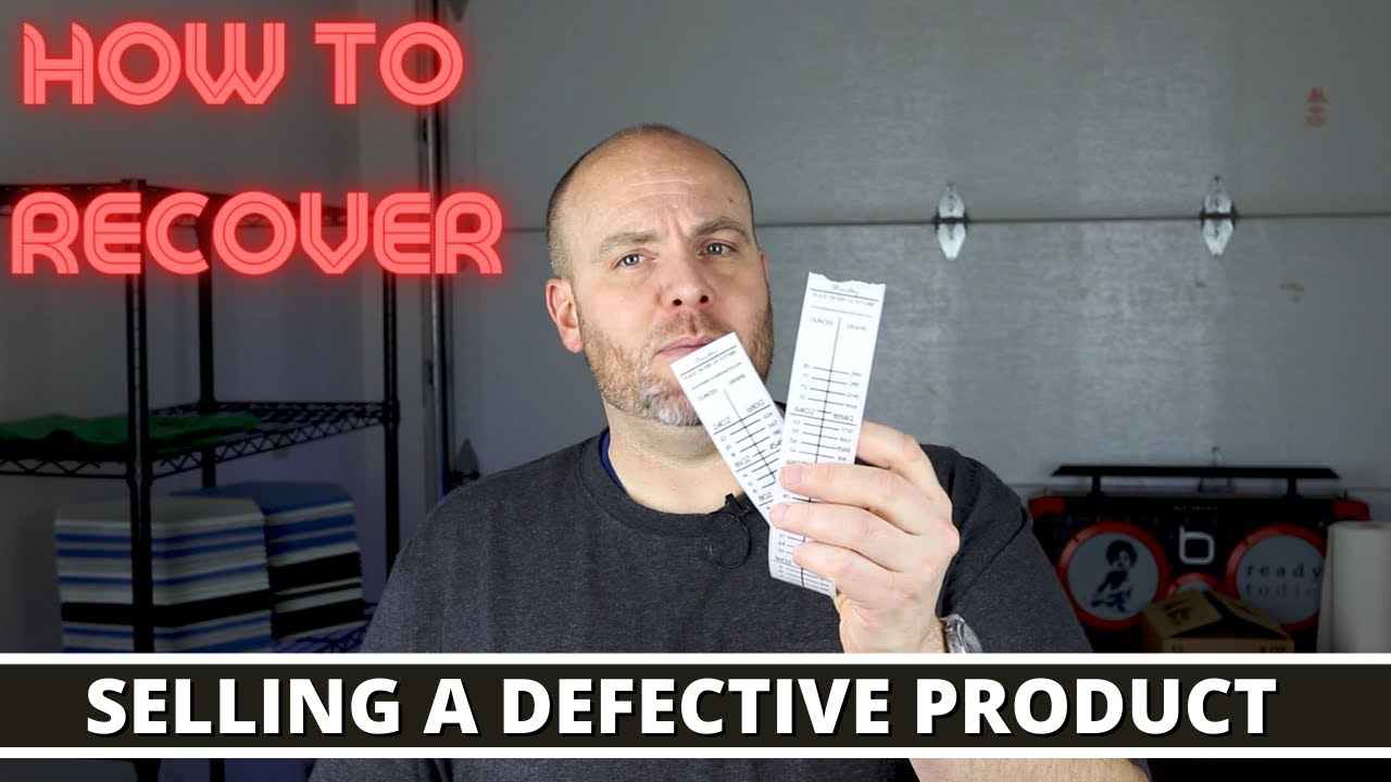 I sold a defective product, how do you recover. Refunds & returns with candles and more