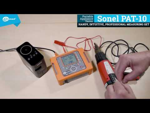 Class II Device Check - Sonel PAT-10