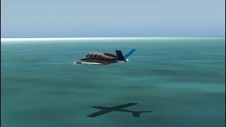 X-plane 10 water landing