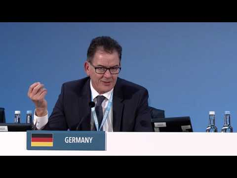 Dr Gerd Müller, Minister for Economic Cooperation and Development, Germany