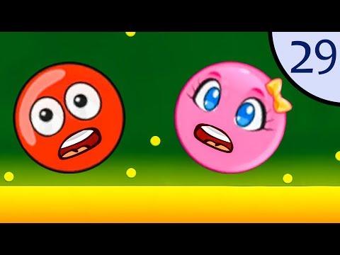 Мультфильм красный шар