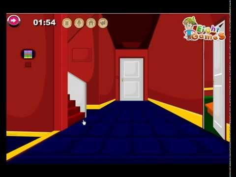 Red Laser Room Escape By EightGames WalkThrough - YouTube