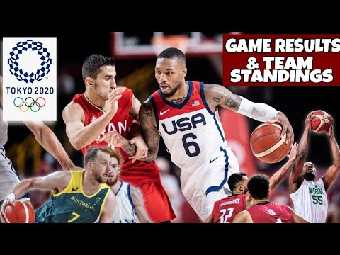 Download Men's Olympic Basketball Results and Standings | Tokyo Olympics