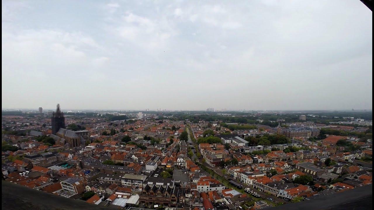 Download Climbing the tower of Nieuwe Kerk/New Church (Delft) Netherlands