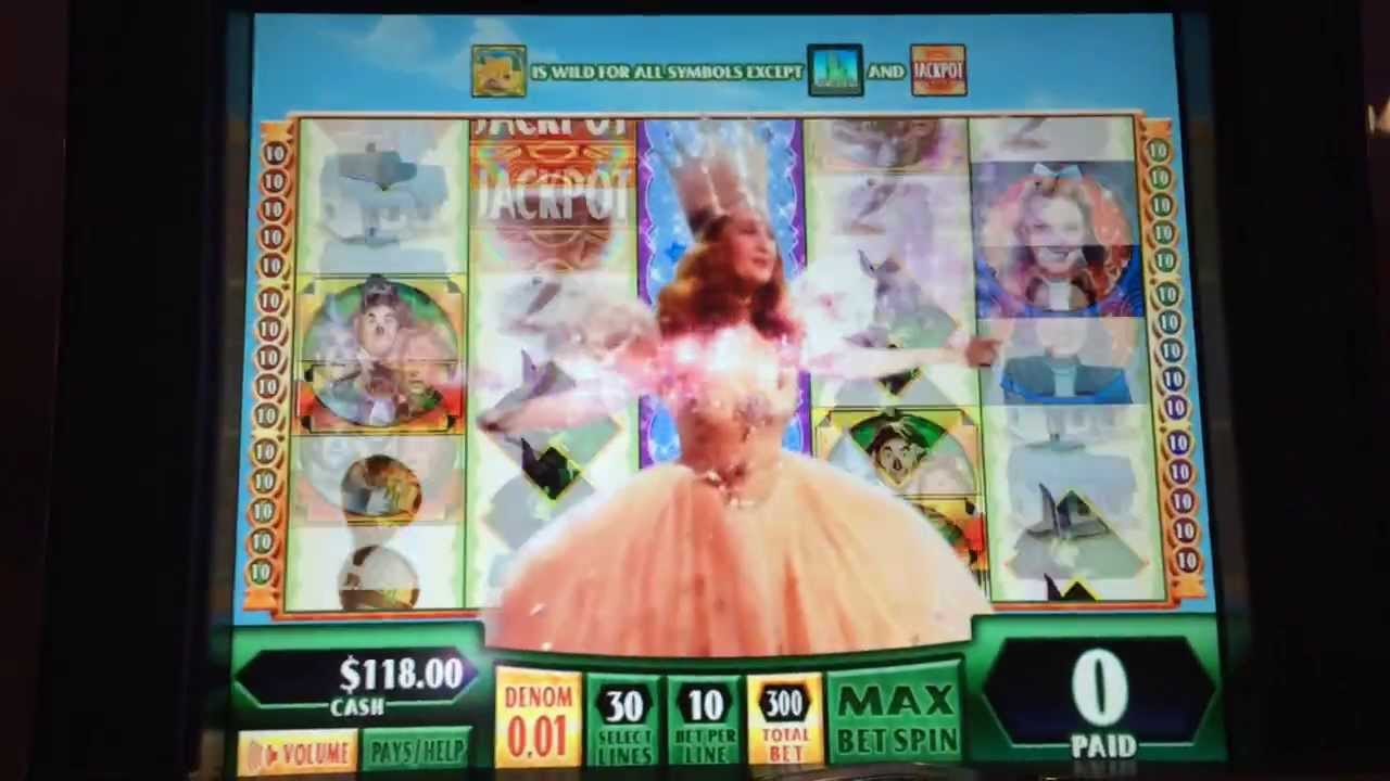 Wizard Of Oz Slot Machines Online