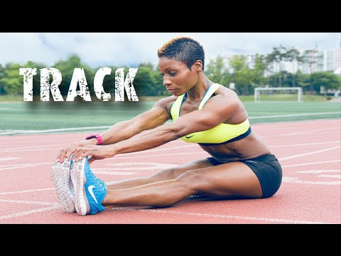 Track Workout | Sprints | HIIT | Leg & Booty Builder | Motivation| Track & Field