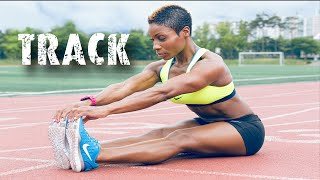 Track Workout   Sprints   HIIT   Leg & Booty Builder   Motivation  Track & Field