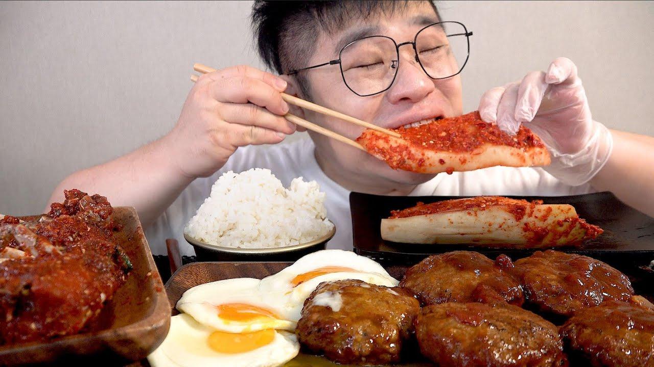 이번엔 어머니 매운 무김치입니다 밥도둑 맛사운드 spicy radish kimchi mukbang Legend koreanfood asmr