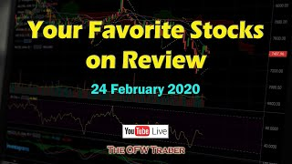 Your Favorite Stocks on Review - 24 Feb 2020