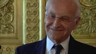 Europamedaille: Edmund Stoiber wird ausgezeichnet!