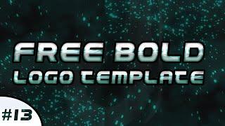 Free Bold Logo Template #13 | DU Designs