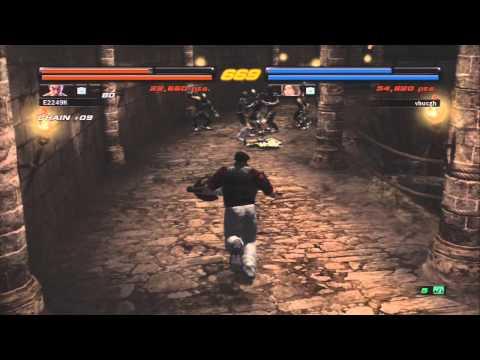 E24K's Tekken 6 - Online Co-Op Adventures with vhucgh