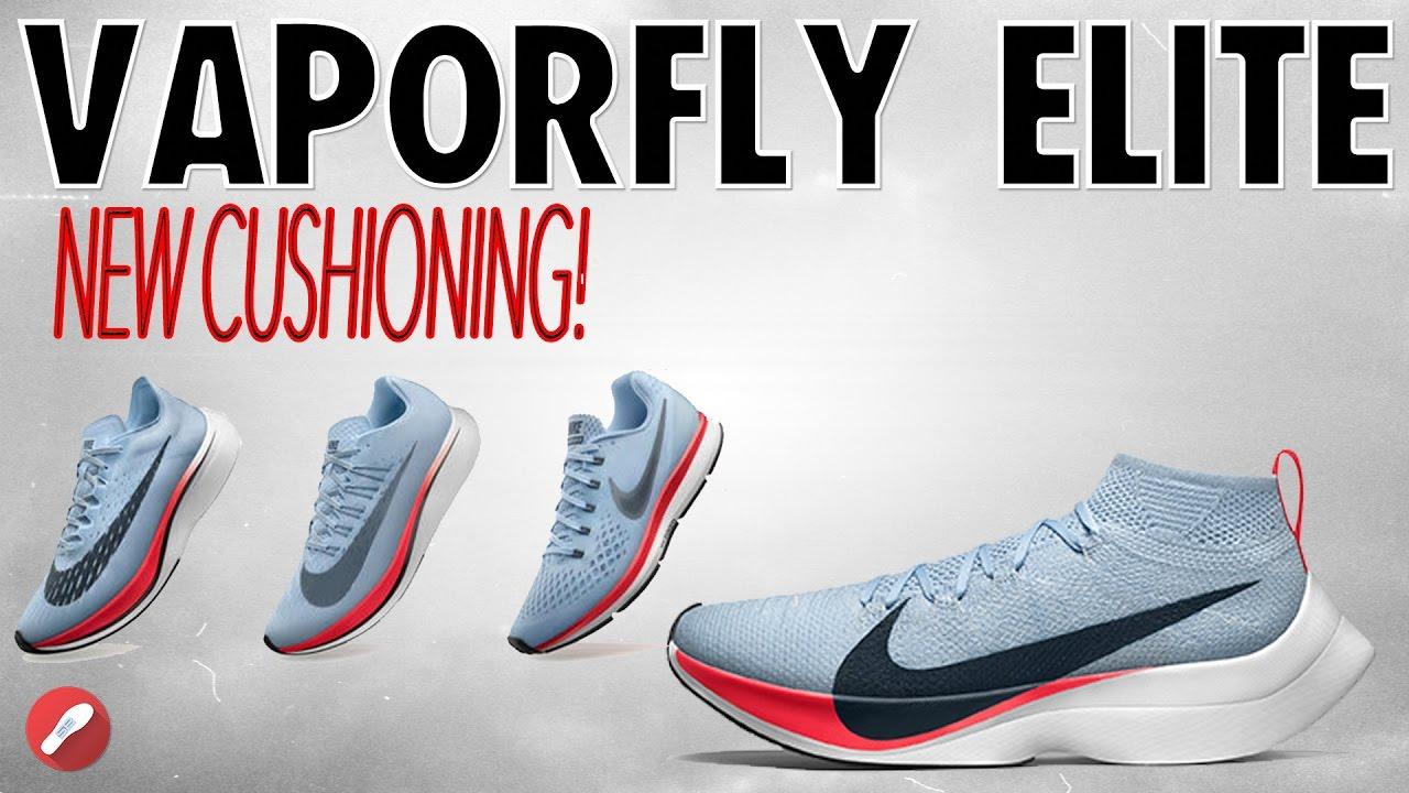 Nike Zoom Vaporfly Elite! New ZOOMX Cushion!