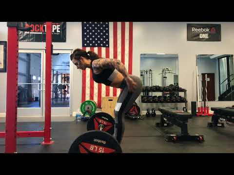 How to Bent Over Barbell Row with Ashley Horner