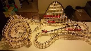 The Hurricane Custom Lego Compatible Roller Coaster CDX Blocks
