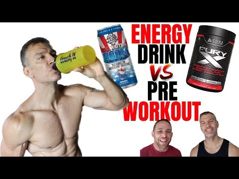 Energy Drink VS Pre Workout