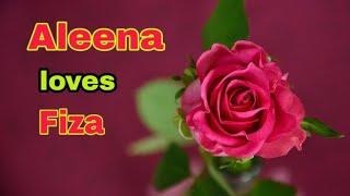 """Aleena and fiza"" name WhatsApp status video ....|| Chahe dukh ho chahe dukh ho ||"