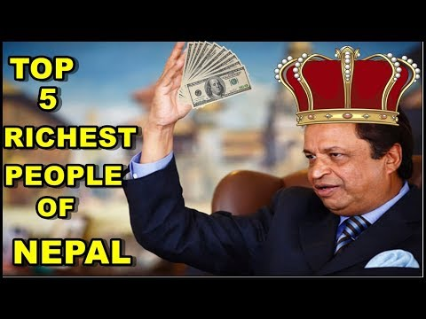 Top 5 Richest Person Of Nepal
