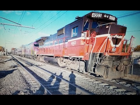 Railfanning Massachusetts: 200 Sub Special! Awesome Horns and Very Rare MBTA and Amtrak Trains!